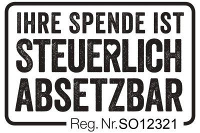 Logo Spendenabsetzbarkeit